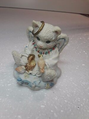 1994 Enesco CALICO KITTENS  Joy to the world