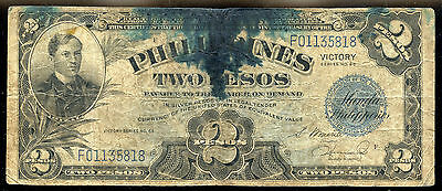 PHILIPPINES VICTORY SERIES 66 2p NOTE