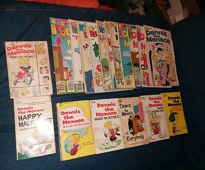 dennis the menace 19 issue comics and books lot fawcett halden run collection