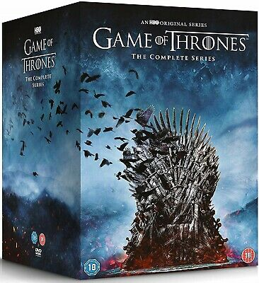 GAME OF THRONES  1-7 2011-2017 WINTER IS COMING + HERE! TV Series R2 DVD not US