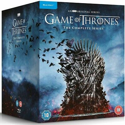 GAME OF THRONES  1-7 2011-2017 WINTER IS COMING + HERE! TV Series RgFree BLU-RAY