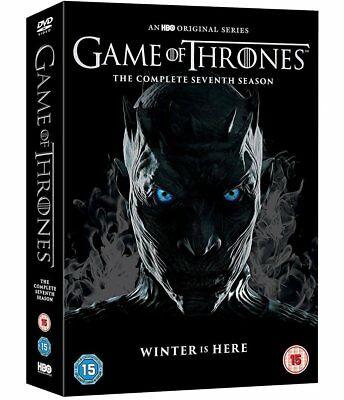 GAME OF THRONES 7 (2017) WINTER IS HERE! - TV Season Series - NEW  R2 DVD not US