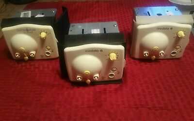 Lot of 3 Medela Pump In Style Advanced Breastpump Motors Only