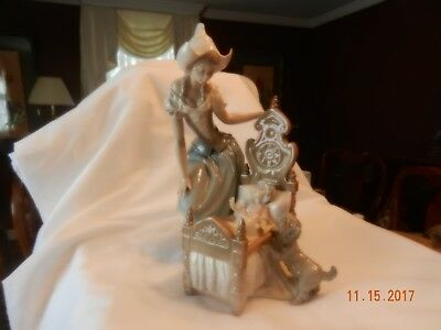 """Lladro Figurine #5083 """"Dutch Mother""""Issued 1980 Retired 1983 Exc Condition"""