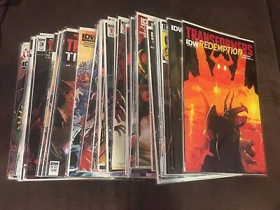 Lot of 53 Transformers IDW comics w/ lots of Variants!! Sins of the Wreckers!