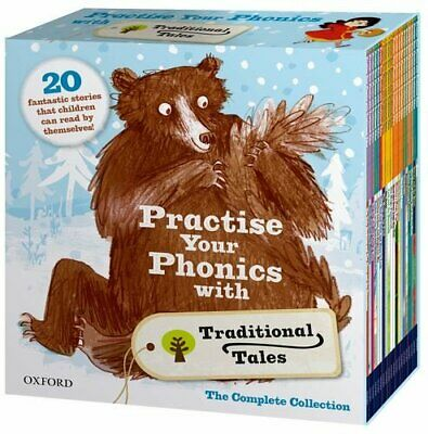 Practise Your Phonics with Traditional Tales Set Collection (21 Books) RRP:£125