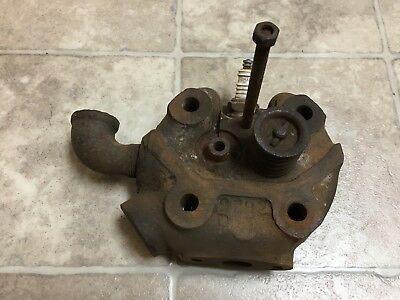 IHC Stationary Hit Miss Gas Engine Cylinder Head LB LA 1.5-2.5 M Tractor 3 5 6