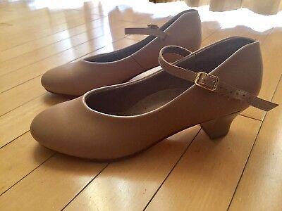 THEATRICALS Nude Beige Character Shoes Women's Size 6.5