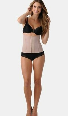 New Belly Bandit Mother Tucker Corset Postpartum Shapewear Nude Size Small
