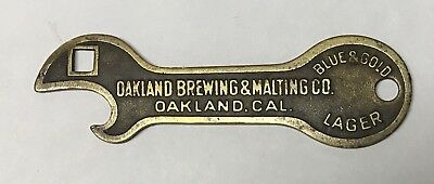 Oakland Brewing & Malting PRE PRO BRASS BEER OPENER B-2 California
