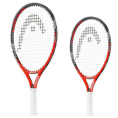 Head Novak Junior Series Tennis Racquet Jr Racket Boys w/ Cover Red 19/21/23/25