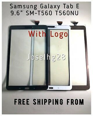 "For Samsung Galaxy Tab E 9.6"" SM-T560 T560  Touch Screen Digitizer Glass Black/W"