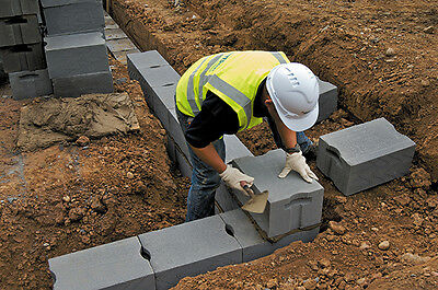 One pack of (30) 300mm Celcon Trench / Foundation Block 3.6N