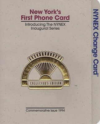 1994 NYNEX change cards , Inaugural Series.