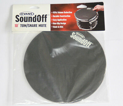 EVANS SoundOff 10'' Tom/Snare Mute * Dämpfer-Matte * 95 % volume reduction