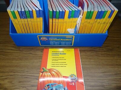 NEW Pearson Reading Street Texas Grade 5 On-Level Leveled Readers and Guide