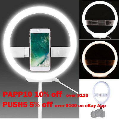 YONGNUO YN128 LED Selfie Ring Light For Youtuber Blogger Selfie Video iPhone 7 8