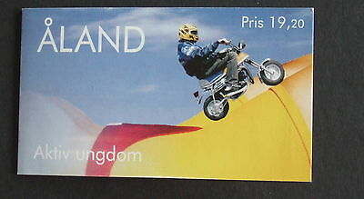Aland 1998 Youth Activities Booklet Bike moped computer aerobics cd deck