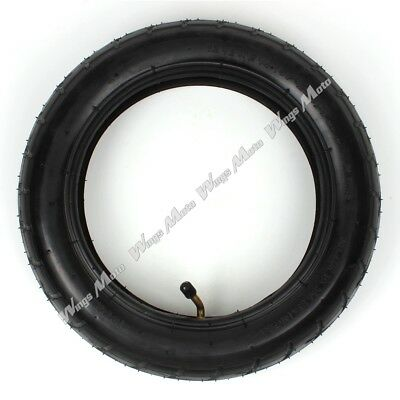 12 1/2 x 2 1/4 Tyre Tire + Inner Tube with TR-87 Angled Stem Razor Pocket Mod