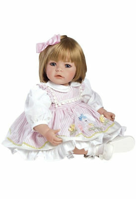 """Adora Toddler Pin-A-Four Seasons 20"""" Girl Weighted Doll Gift + Outfits"""