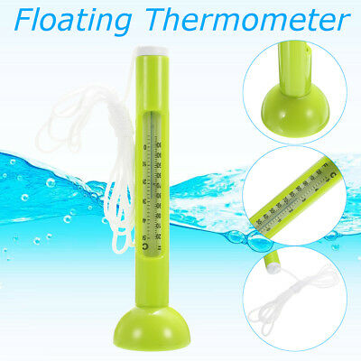 Green Floating Thermometer Swimming Pool Spa Hot Tub Temperature Tester Meter