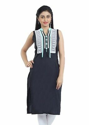 Indian Pakistani Kurta Kurti Bollywood Designer Fab Nisa Women Ethnic Top Dress
