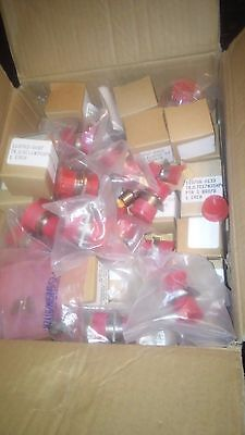 Mil Connectors Itt Cannon Circular Aviation Mostly In Original Box (Approx 96)
