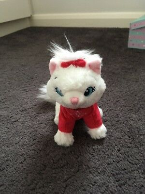 Disney Store Marie Aristocrats Christmas Small Soft Toy