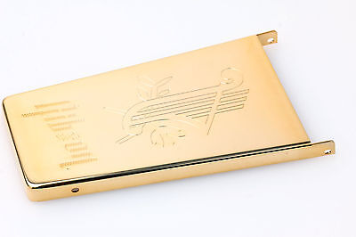 "Gibson Maestro Vibrola Cover ""Lyre"" Gold plated"