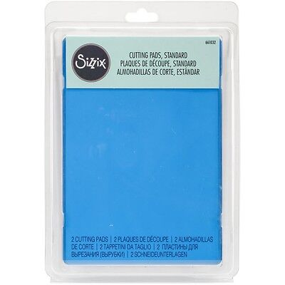 "Sizzix Cutting Pads 6.125""X8.875"" 1 Pair - Standard - Blueberry"