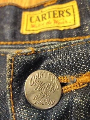 Carter's Watch the Wear selvedge jeans, made in USA
