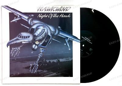 Hawkwind - Night Of The Hawk UK LP 1989 Lemmy Motorhead Space Rock /2*
