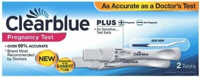 UK Pharmacy Approved Clearblue Pregnancy Plus Double Test Over 99% Accurate