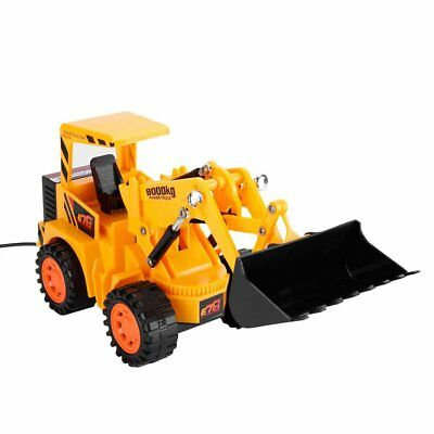 RC Construction Vehicles OCDAY 5 Channels Wired Remote Control Bulldozer Kids
