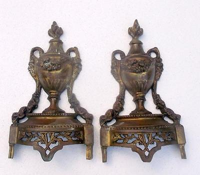 Pair of Antique French Bronze Furniture Embellishments