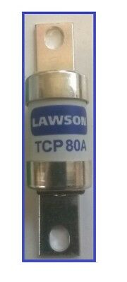 Lawson Tcp80, 80A, Industrial Fuse Bolted Connections,offset (Pack Of 1)
