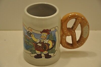 "The SIMPSONS ""OKTBERFEST"" MUG by GERZ of GERMANY"