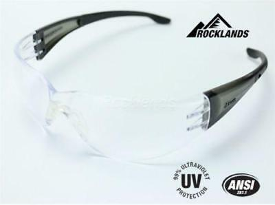 Elvex Atom™ Safety Glasses Clear PC Lens New Ballistic Rated Z87.1 MIL-PRF-31013
