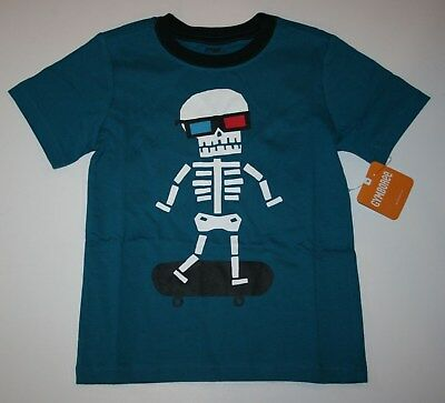 New Gymboree Skeleton Skate Short Sleeve Tee Top NWT 2T 3T 4T 5T Mix N Match