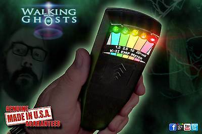Genuine K2 EMF Meter Black, Ghost Hunting Paranormal Equipment K-II /KII /UK