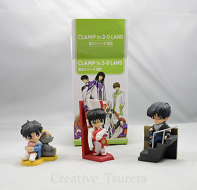 CLAMP in 3-D 3D Land Himura Rikuou Figure US Seller Official Legal Drug