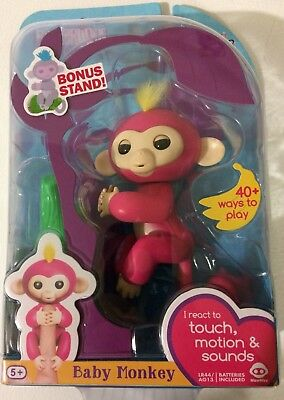 Wowwee Fingerling Baby Monkey Bella Cad 35 00 Picclick Ca