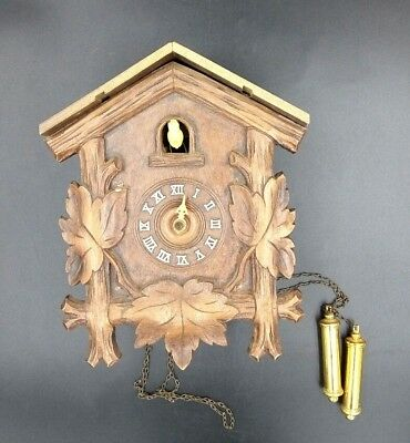 Cuckoo Clock For Parts & Not Working