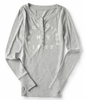aeropostale womens long sleeve aeropostale ny henley top