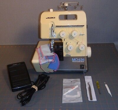 Juki Mo-634 Serger Sewing Machine Electronic Overlock