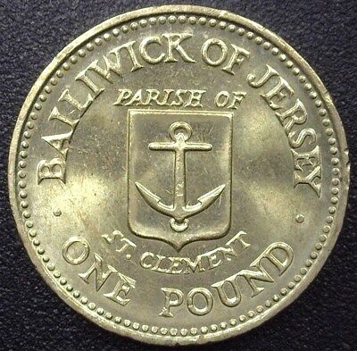 Jersey 1985 Pound - St. Clement - Gem++ Uncirculated Km#62