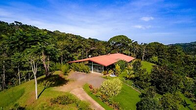 Home for sale in Costa Rica with Guest House on 15.9 Acres with Beautiful Views