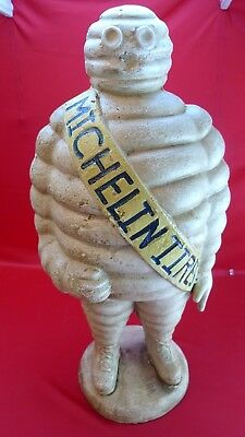 Michelin Man Bibendum Cast Iron Advertising Statue