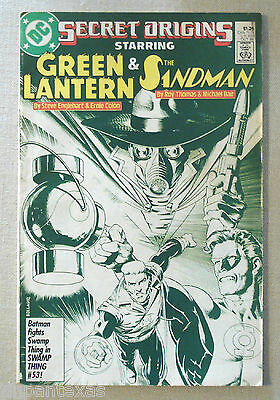 DC Comic Secret Origins Green Lantern The Sandman Oct 1986 7