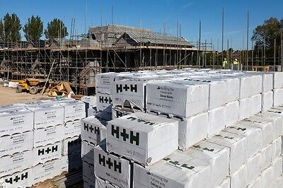 One pack of 100 (100mm) Celcon 3.6N Aerated Concrete Blocks